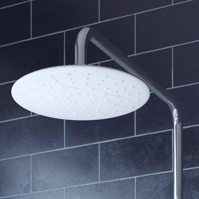 Фото Смеситель для ванны с верхним душем, IDDIS Cloud CLOSB00i06, хром/белый 4