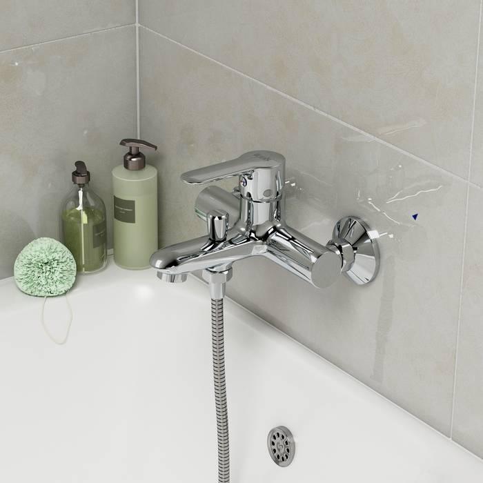 Фото Смеситель для ванны IDDIS Cuba CUBSB00i02WA 1
