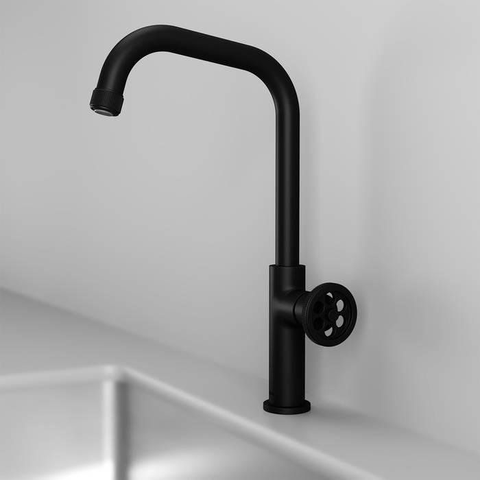Фото Смеситель для кухни IDDIS Grange GRABL00i05, черный 3