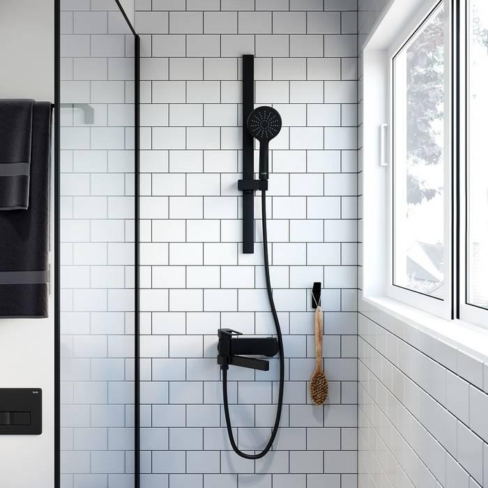 Фото Шланг для душа ПВХ, 1,5 м IDDIS Shower Hose 04P15BLi19, черный 1