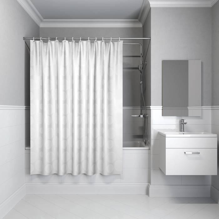 Фото Штора для ванной комнаты, 180x180 см полиэстер, IDDIS Basic B56P118i11 0