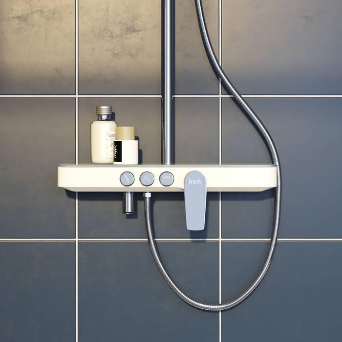 Фото Смеситель для ванны с верхним душем, IDDIS Shelfy SHESB3Fi06 1