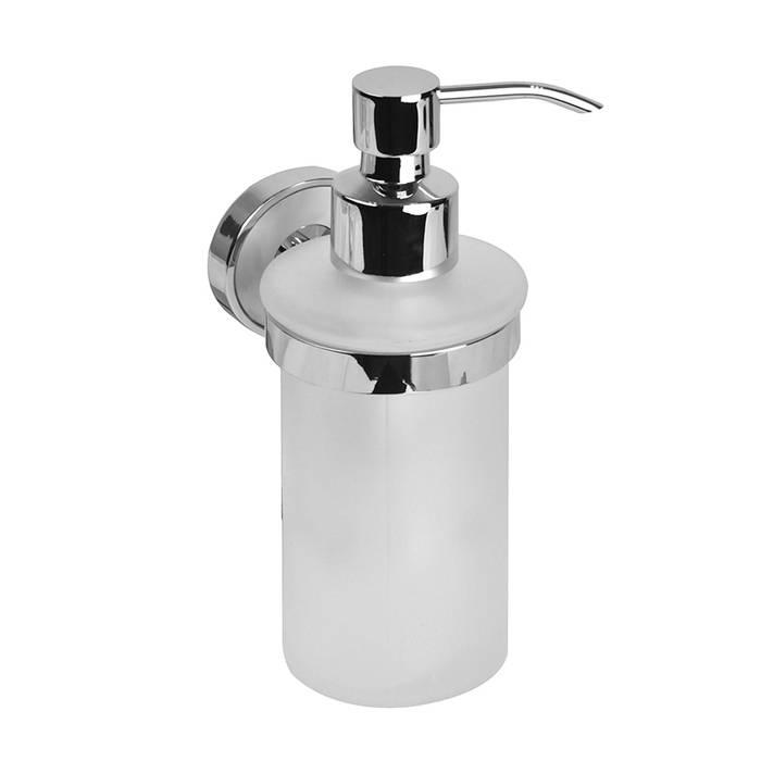 Фото Дозатор для жидкого мыла, матовое стекло, латунь, IDDIS Calipso CALMBG0i46 0