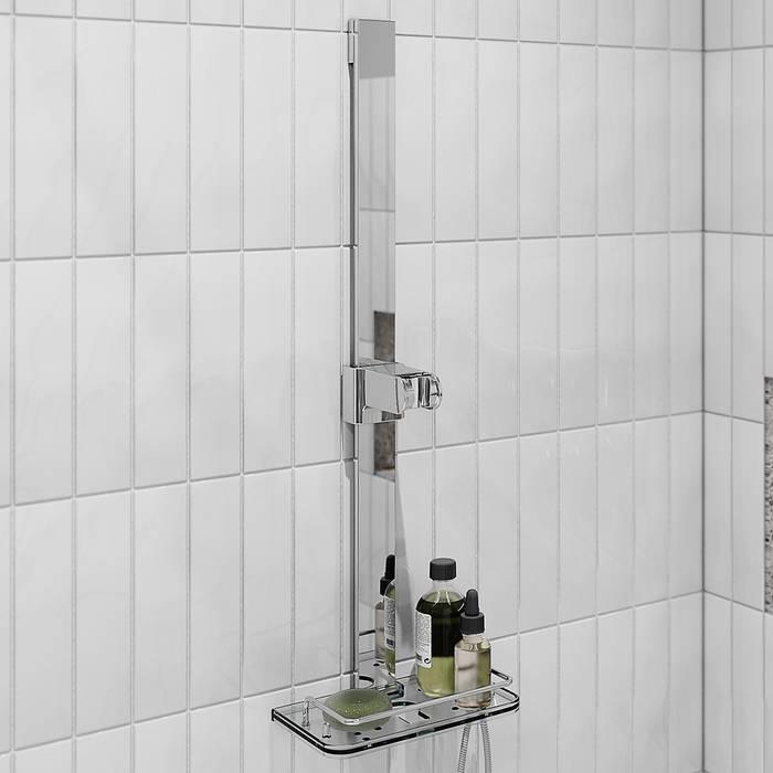 Фото Стойка для душа с мыльницей 680 мм IDDIS Shower Bar S316101 1