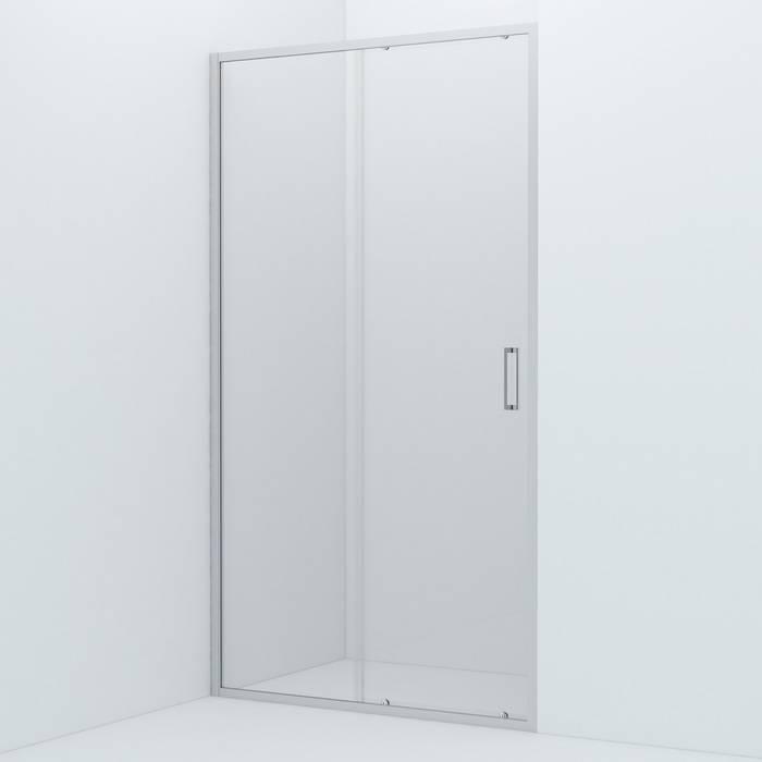 Фото Душевая дверь алюминиевый профиль 110х195 IDDIS Zodiac ZOD6CS1i69, глянцевый 0