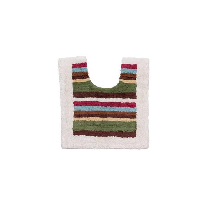 Фото Набор ковриков для ванной комнаты, 70x120+50x50 см, Хлопок, IDDIS 440C512i13 1