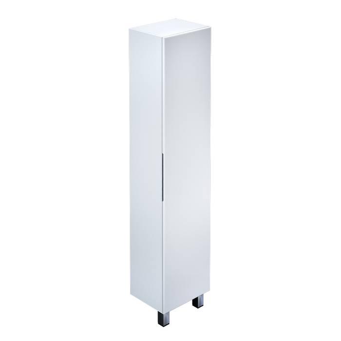 Фото Пенал для ванной комнаты, напольный, 40 см, IDDIS Harizma HAR4000i97, белый 0