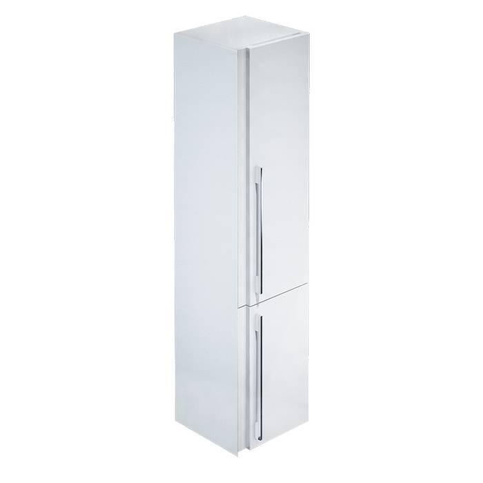 Фото Пенал для ванной комнаты, подвесной, 36 см, IDDIS Color Plus COL3600i97, белый 0
