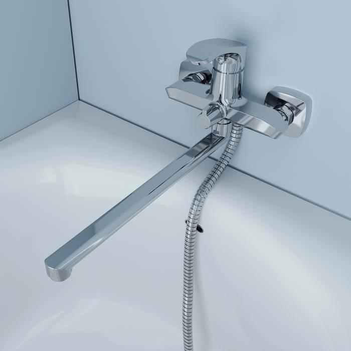 Фото Смеситель для ванны с длинным изливом, IDDIS Joker JOKSB00i10WA 3