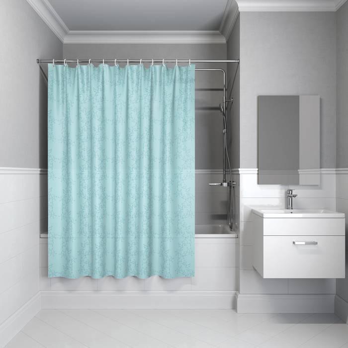 Фото Штора для ванной комнаты, 200x180 см полиэстер, IDDIS Basic B64P218i11 0