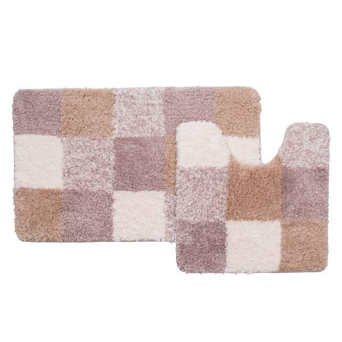 Фото Набор ковриков для ванной комнаты, 50x80+50x50 см, полиэстер, IDDIS Basic 460M580i13 0