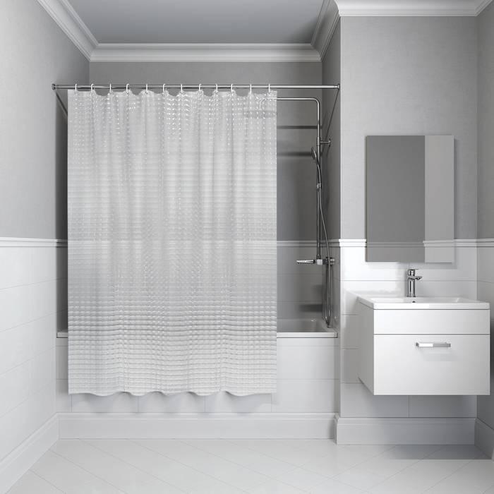 Фото Штора для ванной комнаты, 200x180 см, EVA IDDIS 500E18Si11 0