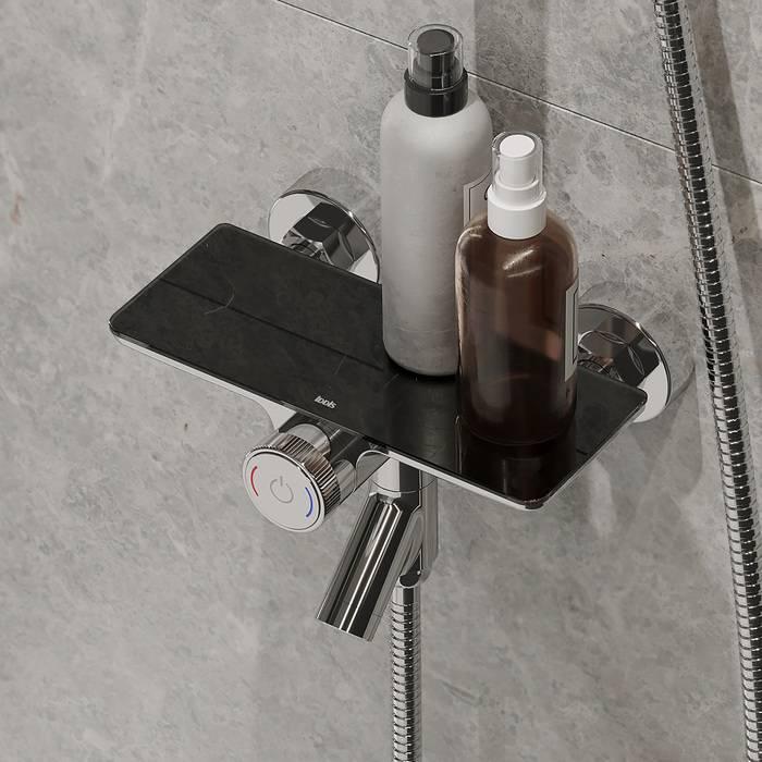 Фото Смеситель для ванны с управлением IDDIS Shelfy SHESBBTi02WA 1