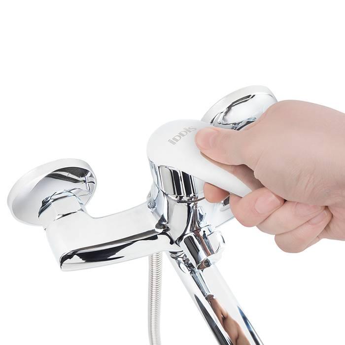 Фото Смеситель для ванны с длинным изливом с керамическим дивертором, IDDIS Torr TORSBL2i10WA 2