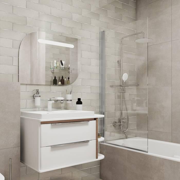 Фото Шторка на ванну, глянцевый алюминиевый профиль 75х145, IDDIS Slide SLI5CS7i90 6