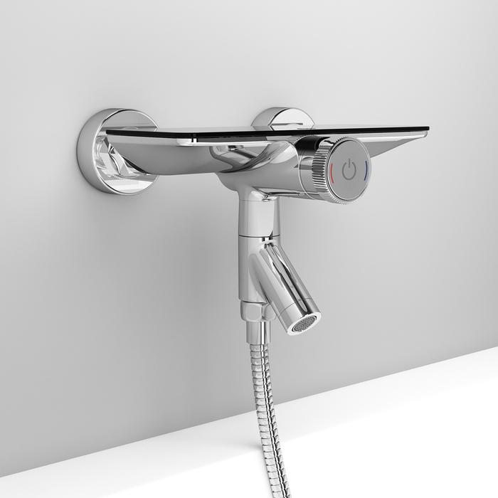 Фото Смеситель для ванны с управлением IDDIS Shelfy SHESBBTi02WA 10