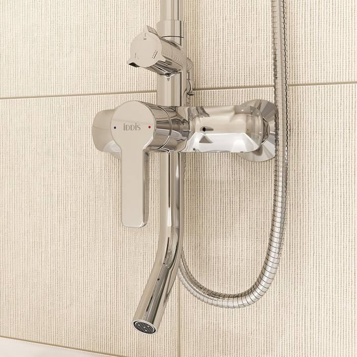 Фото Смеситель для ванны с верхним душем, IDDIS Sena SENSB3Fi06 4