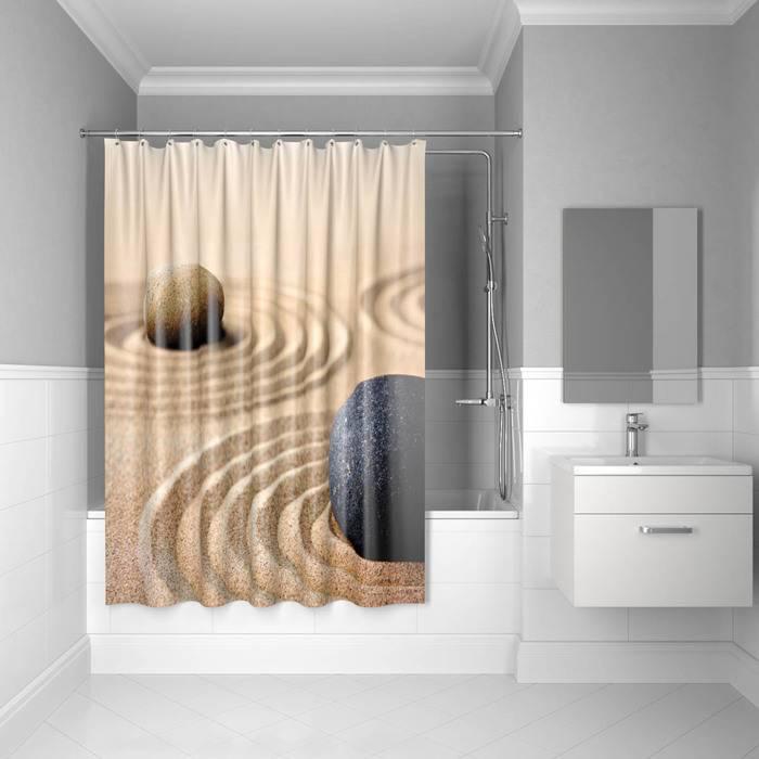 Фото Штора для ванной комнаты, 180x200 см, полиэстер, IDDIS 640P18Ri11 0