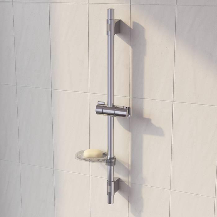 Фото Стойка для душа с мыльницей IDDIS Shower Bar TSH65SDi17 1