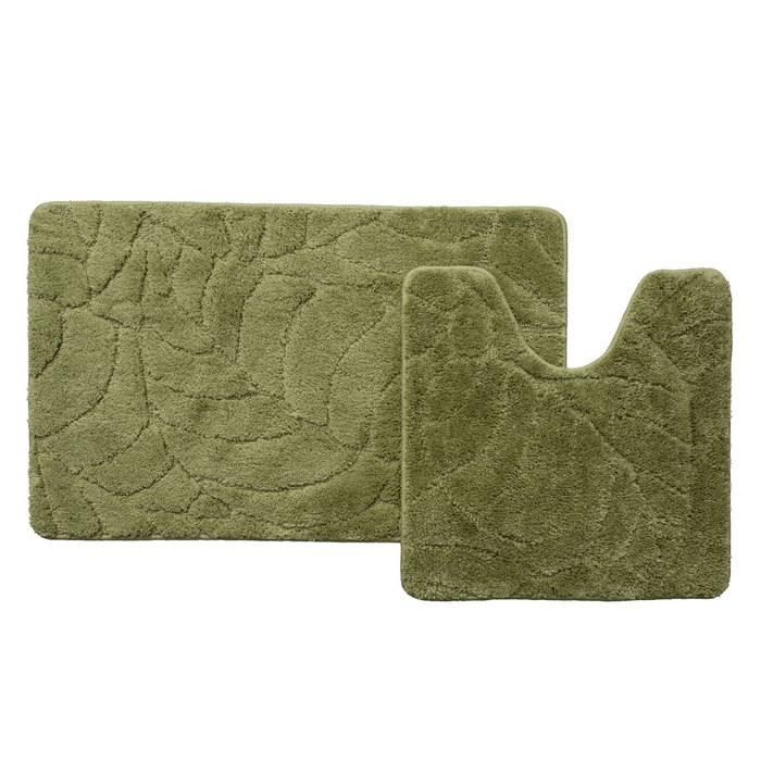 Фото Набор ковриков для ванной комнаты, 50x80 + 50x50 см, микрофибра, IDDIS Promo P45M558i13 0