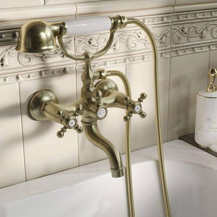 Фото Смеситель для ванны с керамическим дивертором, IDDIS Sam SAMBR02i02 1
