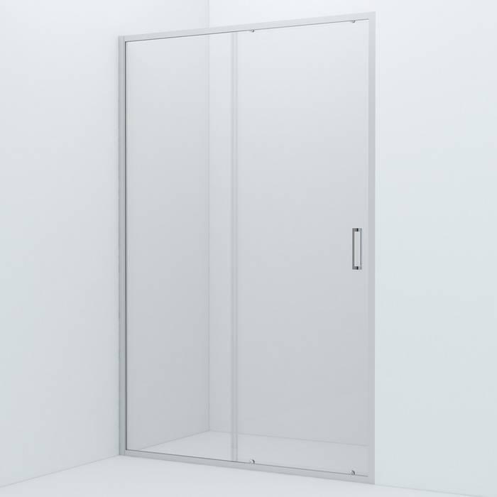 Фото Душевая дверь алюминиевый профиль 130х195 IDDIS Zodiac ZOD6CS3i69, глянцевый 0