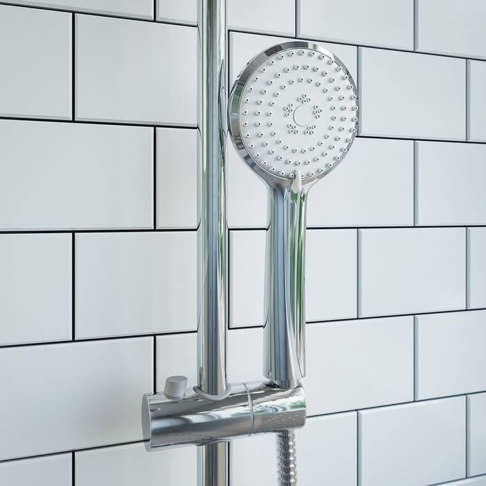 Фото Смеситель для ванны с верхним душем, IDDIS Edifice EDISB3Fi06 3