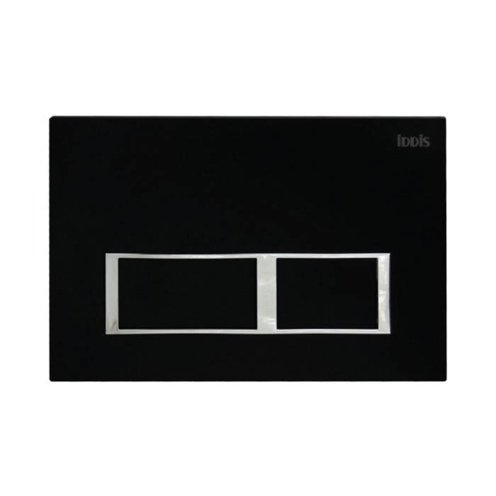 Фото Клавиша смыва универсальная матовый 061 IDDIS Unifix UNI61MBi77, черный 0