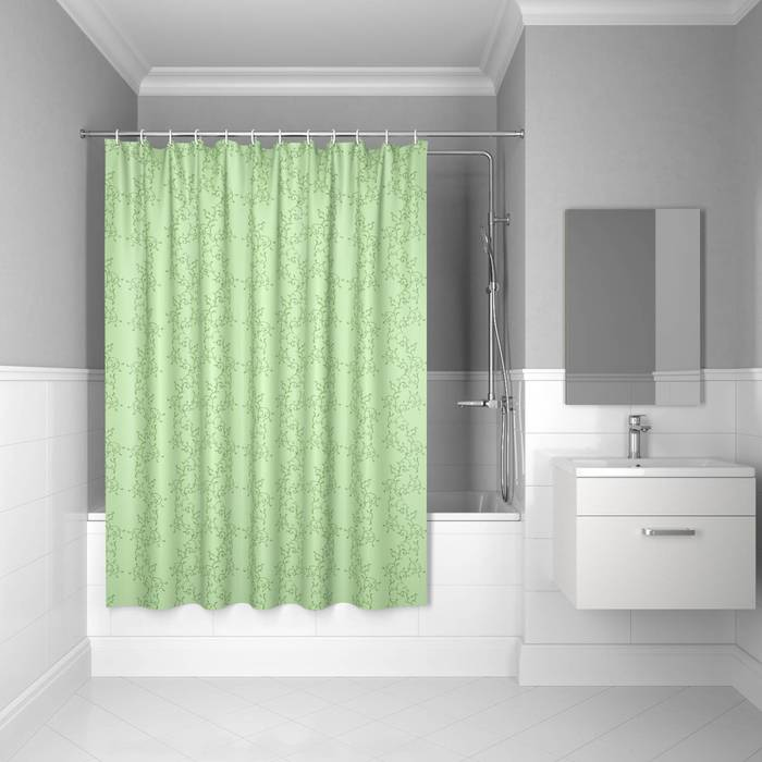 Фото Штора для ванной комнаты, 200x180 см полиэстер, IDDIS Basic B54P218i11 0