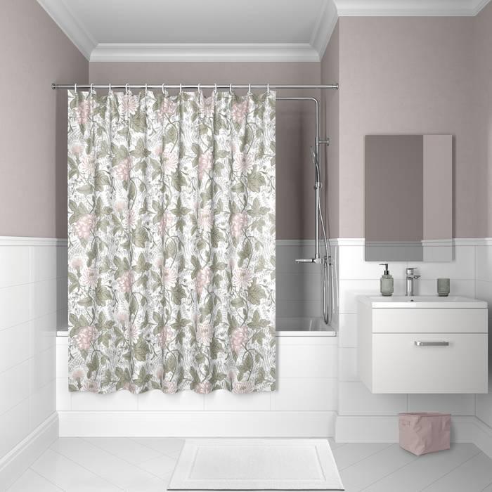 Фото Штора для ванной комнаты, 200x180 см полиэстер, IDDIS Décor D05P218i11 0