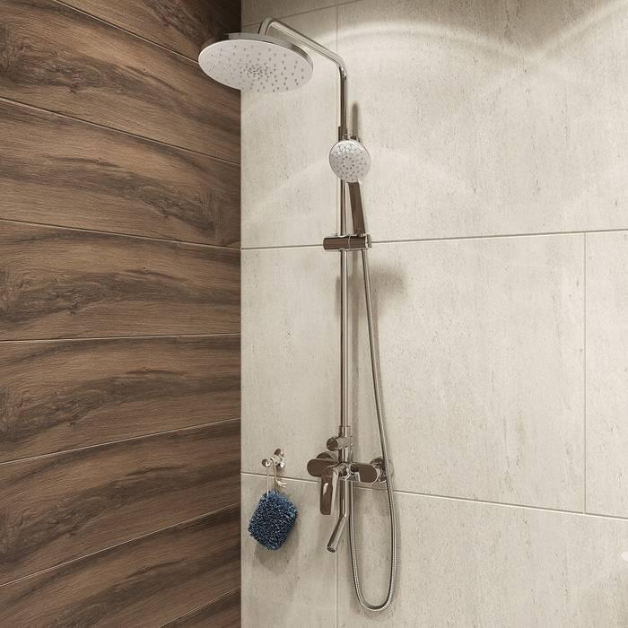 Фото Смеситель для ванны с верхним душем, IDDIS Male MALSB3Fi06 1