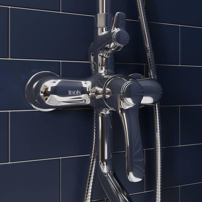Фото Смеситель для ванны с верхним душем, IDDIS Oldie OLDSB3Fi06 2