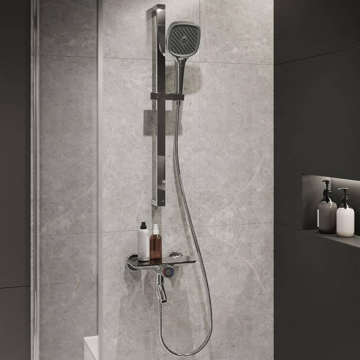 Фото Смеситель для ванны с управлением IDDIS Shelfy SHESBBTi02WA 2