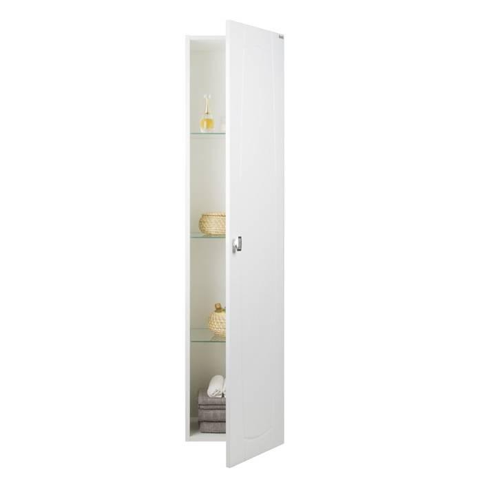 Фото Пенал для ванной комнаты, подвесной, 36 см, IDDIS Rise RIS36W0i97, белый 2