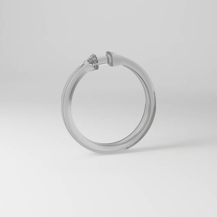 Фото Набор колец для шторы в ванную комнату, IDDIS Rings RID010P 1