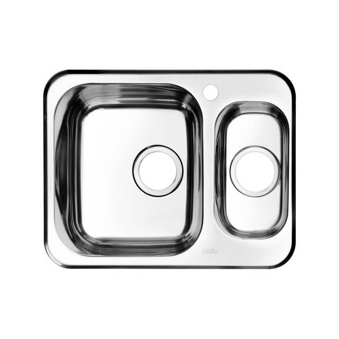 Фото Мойка нержавеющая сталь, шелк, 1 1/2, чаша слева, 605x480, IDDIS Strit STR60SXi77 0