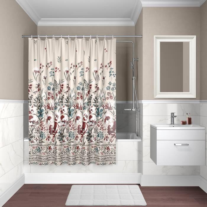 Фото Штора для ванной комнаты, 180x180 см полиэстер, IDDIS Décor D03P118i11 0