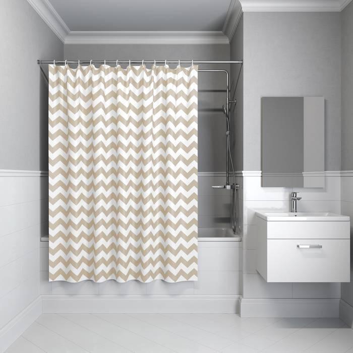 Фото Штора для ванной комнаты, 180x180 см полиэстер, IDDIS Basic B66P118i11 0