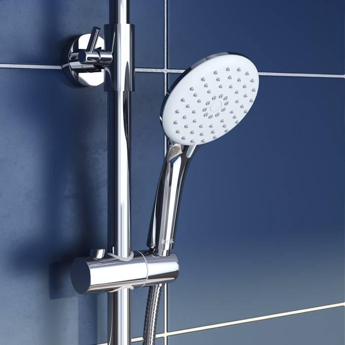 Фото Смеситель для ванны с верхним душем, IDDIS Shelfy SHESB3Fi06 3