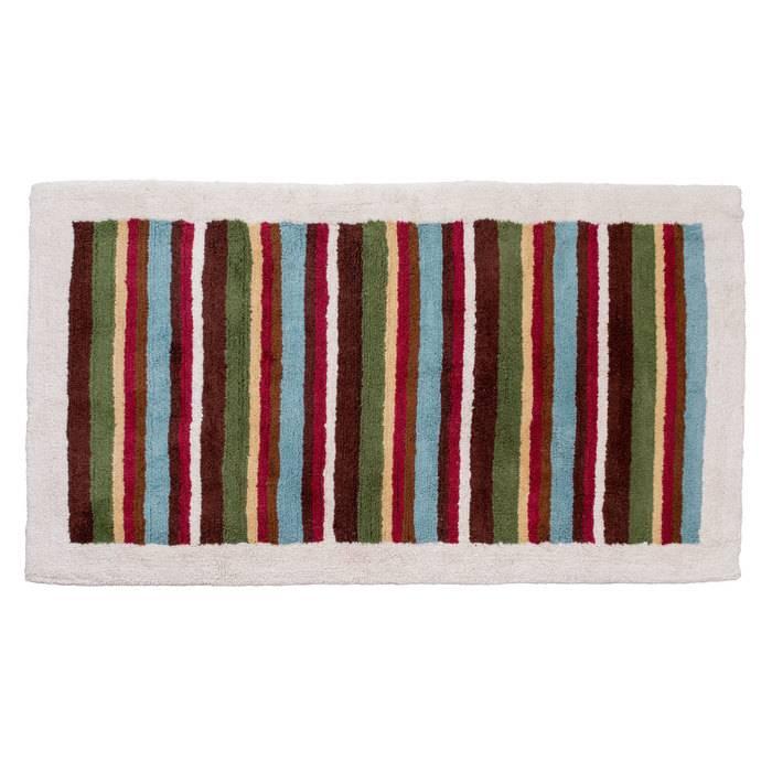 Фото Набор ковриков для ванной комнаты, 70x120+50x50 см, Хлопок, IDDIS 440C512i13 0