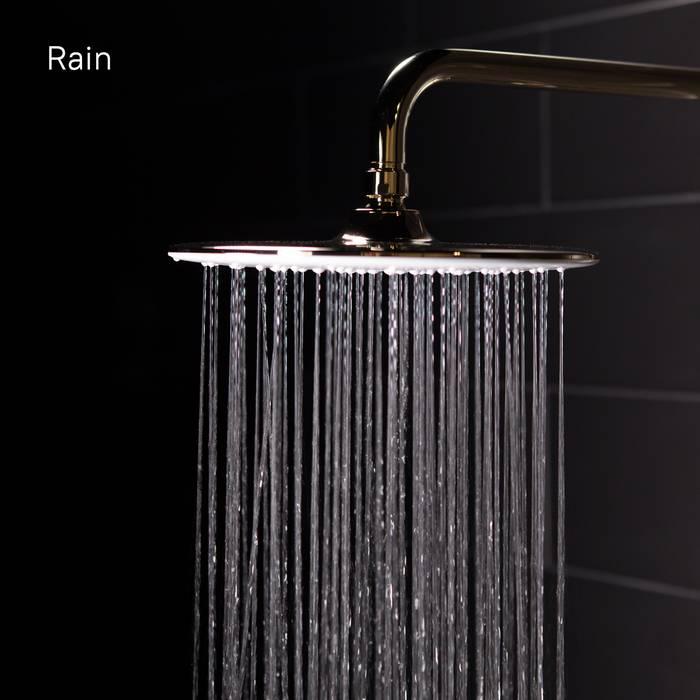 Фото Смеситель для ванны с верхним душем, IDDIS Cloud CLOWG00i06, золото/белый 8