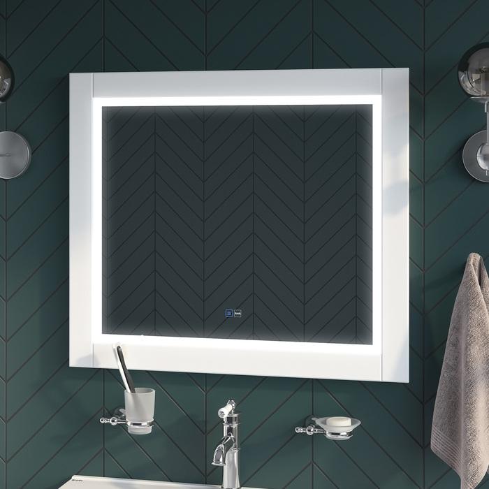 Фото Зеркало с подсветкой, 80 см, Oxford, IDDIS, ЗЛП110 1