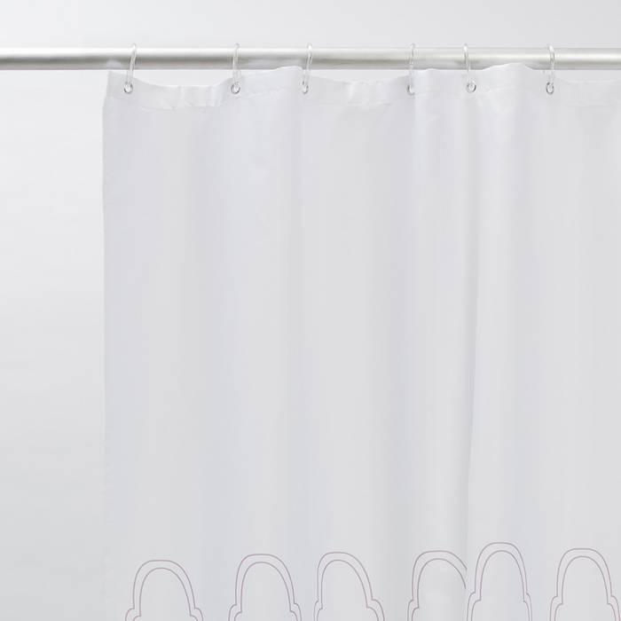 Фото Штора для ванной комнаты, 200x180 см полиэстер, IDDIS Décor D06P218i11 2