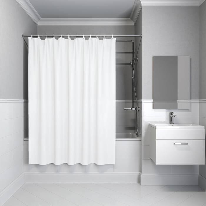 Фото Штора для ванной комнаты, 180x180 см PEVA, IDDIS Promo P33PV11i11 0