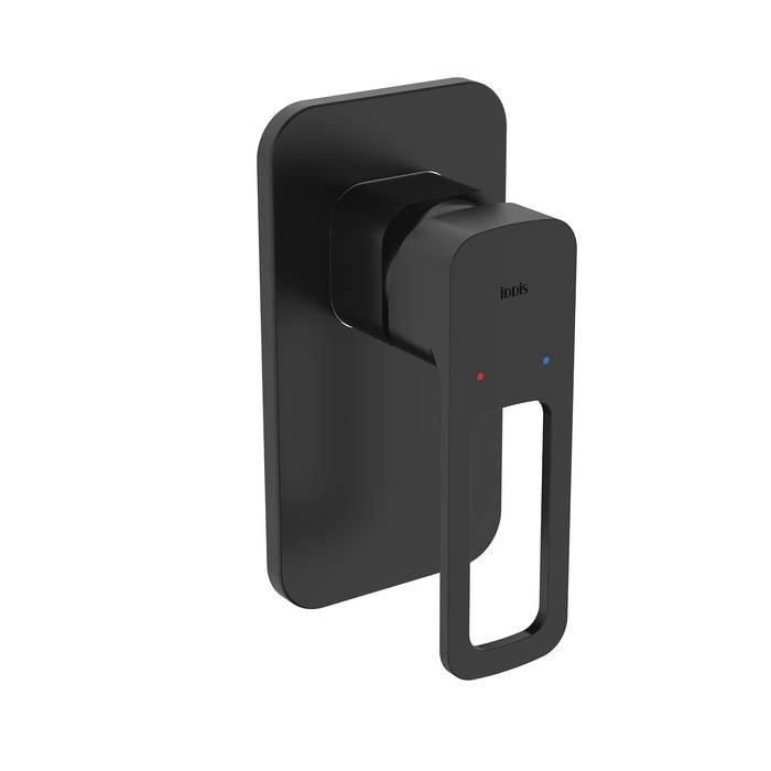 Фото Встраиваемый смеситель с одним выходом, IDDIS Slide SLIBL00i66, черный 0