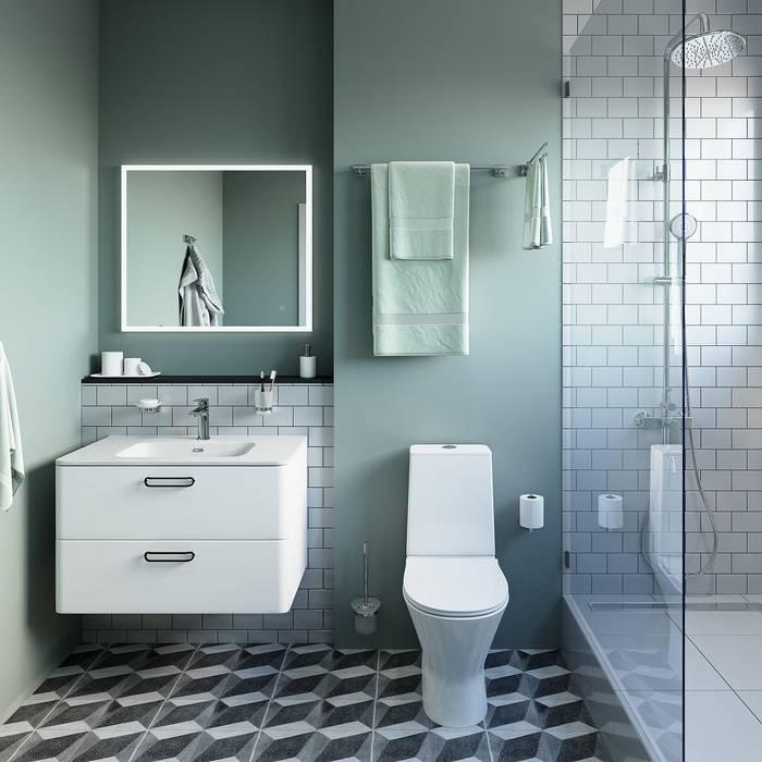 Фото Держатель для туалетной бумаги без крышки, латунь, IDDIS Edifice EDISB00i43 2
