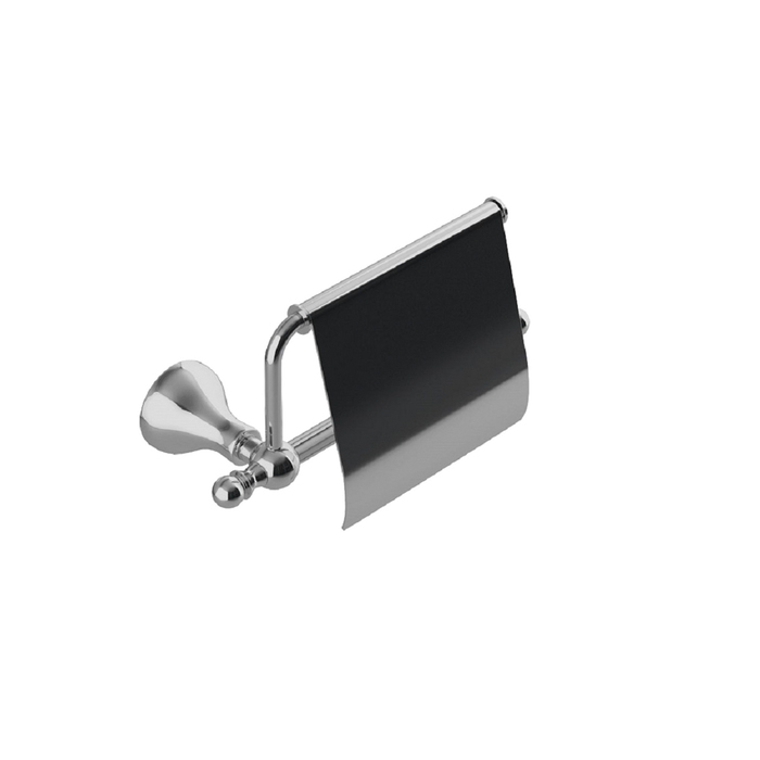 Фото Держатель для туалетной бумаги с крышкой, глянцевый хром, сплав металлов, Retro, IDDIS, RETSSC0i43 0