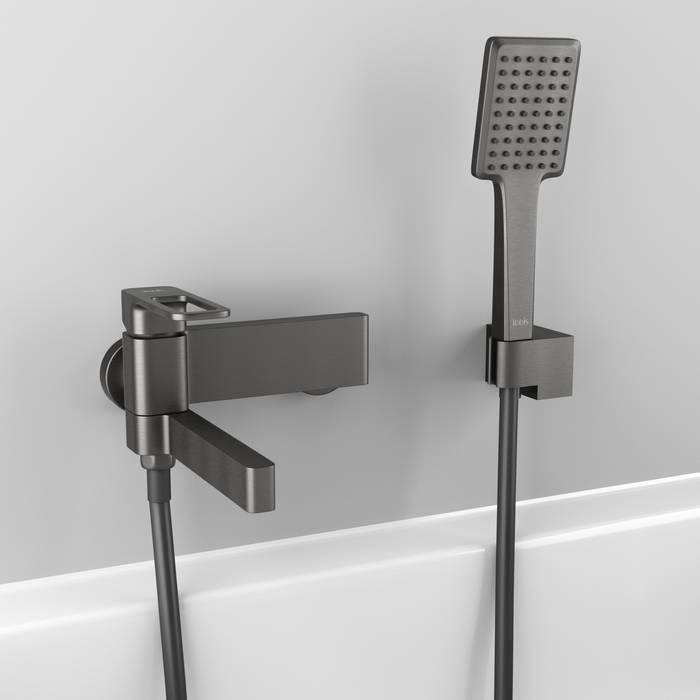 Фото Смеситель для ванны IDDIS Slide SLIGM00i02, графит 2