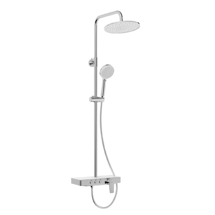 Фото Смеситель для ванны с верхним душем, IDDIS Shelfy SHESB3Fi06 6