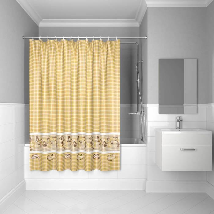 Фото Штора для ванной комнаты, 200x180 см полиэстер, IDDIS Basic B52P218i11 0